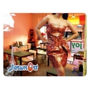 Dress Pesta Orange