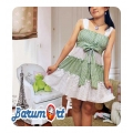 Dress mini hijau