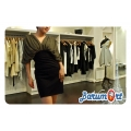 Elegan Dress Hijau